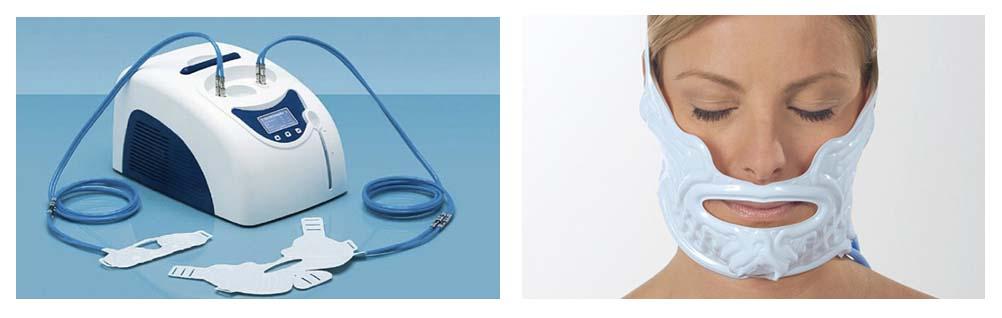 masque froid chirurgie maxillo faciale